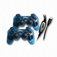Buy cheap USB Twins Joypad with Vibration from wholesalers