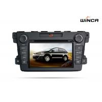 Buy cheap Dashboard Placement Mazda GPS Navigation Bluetooth Mazda Cx 7 Dvd Navigation from wholesalers