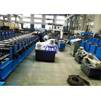Buy cheap Omron Encoder Gate Profile Door Frame Roll Forming Machine Hydraulic Punching Without Scrap product