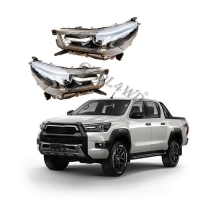 Buy cheap Car Headlights Toyota Hilux 2021 Body Kits LED Head Lamp Wholesaler from wholesalers