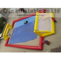 Buy cheap inflatable water soccer field inflatable soccer field inflatable soccer pitch for sale from wholesalers