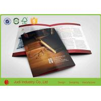 Buy cheap 140 X 250 Mm Colour Brochure Printing Hard Proofs With Spiral Binding from wholesalers