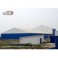 Buy cheap Blue Color 1000 Square  Meter  Warehouse Marquee Canopy Tent with Steel Sandwich Panels product