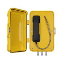 Buy cheap VoIP Speed Dial Outdoor Telephone Box For Heavy Duty Chemical / Power Industry from wholesalers