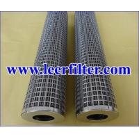 Buy cheap Pleated Fiber Felt Filter Cartridge from wholesalers