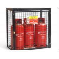 Buy cheap Small Gas Cylinder Cages Propane Tank Storage Easily Assembled / Dissembled from wholesalers