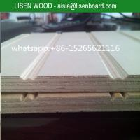 Buy cheap 9mm 12mm slot pine plywood with full pine core for chile market from wholesalers