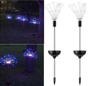 China IP65 150LEDs Waterproof LED Solar Garden Lights on sale