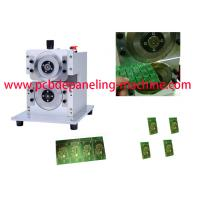 Buy cheap Precision Fiber Board PCB Separator Machine With Two circular Blades from wholesalers