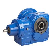Buy cheap Foot Mounted Helical Bevel Gear Motor , Multi-Stage Concrete Mixer Gearbox Reducer from wholesalers