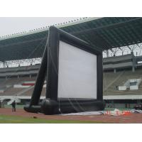 Buy cheap Customizable Airtight Inflatable Movie Screen PVC Tarpaulin 4 * 4m With Blower from wholesalers