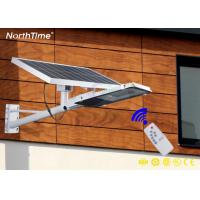 Buy cheap 25W Aluminum Housing Portable LED Solar Street Lights With Remote Control from wholesalers