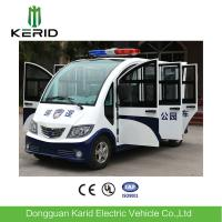 Buy cheap 8 Seats Enclosed Electric Pick Up Car With Alarm Lamp Suits For City Walking Street from wholesalers