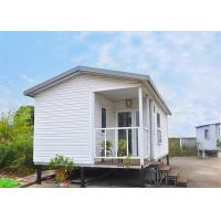 Buy cheap Prefab Modular Homes Prefabricated House White Modular Small Vacation House product