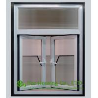 Buy cheap Tempered and Safety Glass Anodized Aluminum Alloy Casement Windows, White color from wholesalers