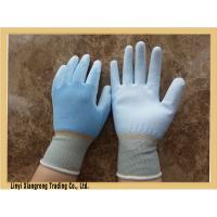 Buy cheap Cut Resistant seamless knitted nylon glove with pu coated from wholesalers