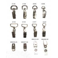 Buy cheap 10mm / 25 mm Durable Lanyard Accessory Clip Eco Friendly For Name Badge from wholesalers