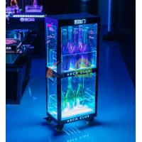 Buy cheap Two Layers Champagne Wine Cabinet Display LED Champagne Cabinet Display china from wholesalers