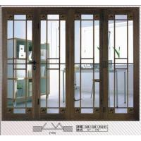 Buy cheap Folding Door with Wood Series Color Made of Aluminum Alloy from wholesalers