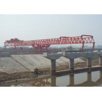 Buy cheap Beam launcher JQG180t-50m with  Varied Launching Capacities and Heights For bridge from wholesalers