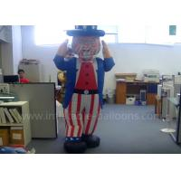 Buy cheap Decorative Inflatable Uncle Sam Costume Custom Moving Inflatable Mascot Costume from wholesalers
