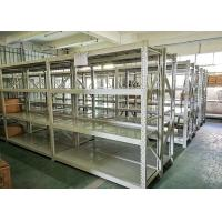 Buy cheap Blue Or White Color Light Duty Metal Shelving Warehouse Storage Racks 4 Layers from wholesalers
