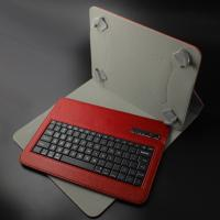 Buy cheap Colorful Leather 9 Inch Bluetooth Keyboard 160mAh With ABS keys product