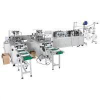 Buy cheap Face mask machine disposable face mask making machine with good quality mask machinery from wholesalers