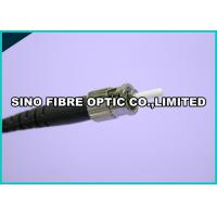 Buy cheap One Crimp Simplex Fiber Optic Connectors , Singlemode Fibre Optic ST Connector 3.0mm from wholesalers