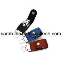 Buy cheap Manufacturer Supply New Model USB3.0 Leather USB Flash Drive for Promotional Products from wholesalers