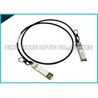 Buy cheap Copper Passive DAC Direct Attach Cable , Hybrid QSFP+ To SFP+ Cable Optical Fiber from wholesalers
