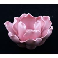 Buy cheap ink/Yellow/Red/Black/Purple Rose Ceramic Candle Holder (YH2010040-1-2-3-4) from wholesalers