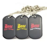 Buy cheap Colorful Aluminum Sublimation Pet Identification Tags , 3D Custom Dog Tags For Pets product