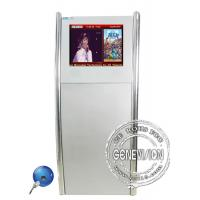 Buy cheap 17 Inch Kiosk Digital Signage Advertising with 0.264(H) x 0.264mm(W) Dot Pitch from wholesalers