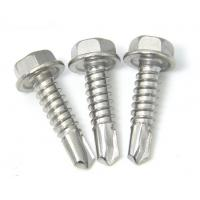 Buy cheap DIN7504K EPDM Bonded Self Drilling Screws , Roofing Self Sealing Sheet Metal Screws from wholesalers