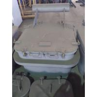 Buy cheap Round Angles Marine Steel Hatch Cover Crude Oil Tanker Cover Customized from wholesalers