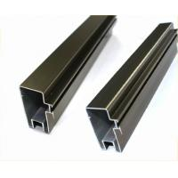 Natural Anodized Aluminum Window Profiles For Interior Decoration Materials