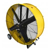Buy cheap Powerful 120v Voltage Industrial Floor Fan Rolling Drum Fan 60hz Frequency from wholesalers