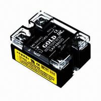Buy cheap Solid-state relay, double LED indicators, single phase SSR, UL-/CE-certified from wholesalers