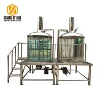 Pub Micro Beer Brewing Equipment , Indoor / Outdoor 500L Micro Brewing Systems