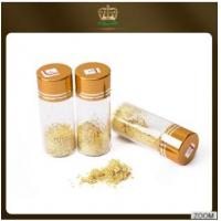 Buy cheap No expire date bakery alcohol dishes decoration Ingredients 24k edible gold flakes Content Gold 99% from wholesalers