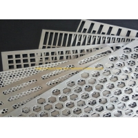 China Powder Coating 14mm Etched Perforated Screen Sheet on sale