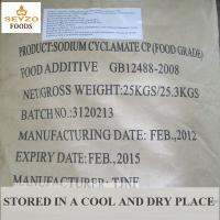 Quality Sodium Cyclamate--Artificial Food Grade sweetener additives as sweetener in food and beverage for sale