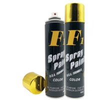 Buy cheap Bright Gold Metallic Electro Plated Aerosol Spray Paint from wholesalers