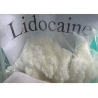 Buy cheap Raw Hormones Series Local Anesthetic Drugs Lidocaine Base CAS 137-58-6 from wholesalers