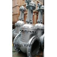 Buy cheap DIN 3202  flanged ends cast steel manual rising stem gate valve PN16-PN64 from wholesalers