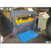 Buy cheap Fully Automatic Sheet Metal Rolling Equipment Metal Roofing Machine 15-20m/min from wholesalers