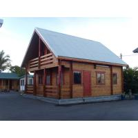 Buy cheap Wooden Decorate Modular Homes / Sound-Proof Wooden Bungalow from wholesalers