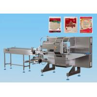 Buy cheap Ice Cream Horizontal Flow Wrap Machine Bottom Film Box Motion CE Certification from wholesalers