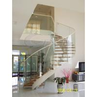 Buy cheap 3 - 19mm Toughened Safety Glass Balustrade with Hot Stability from wholesalers